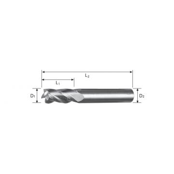 Carbide End Mill 4 Flute