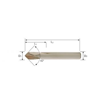 Carbide NC Spotting Drill (82°)